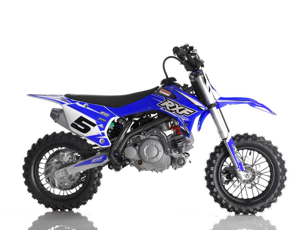 Kids 60cc RXF Racing™ Mini Dirt Bike - BLUE
