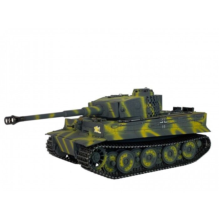 Taigen Hand Painted RC Tanks - Full Metal Upgrade - Tiger - 360 Turret